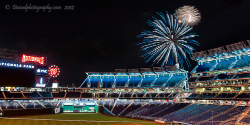 DC Fireworks - Nats Style by Dwood Photography on Flickr.