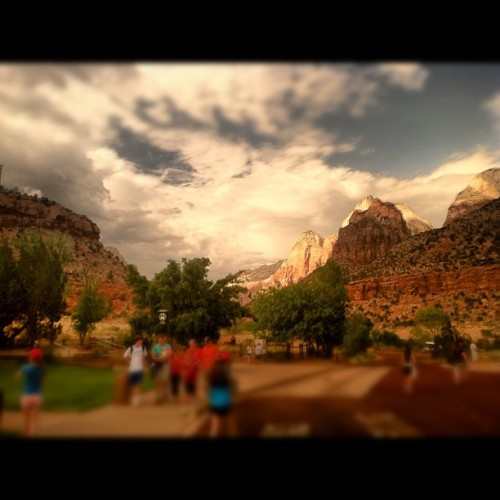 #zion #national #park #utah #etgar  (Taken with Instagram at Zion National Park)