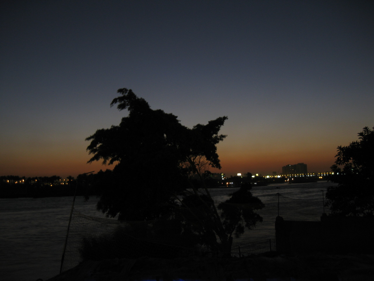 Nile's sunset.