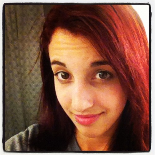 I'm a redhead. (Taken with Instagram)