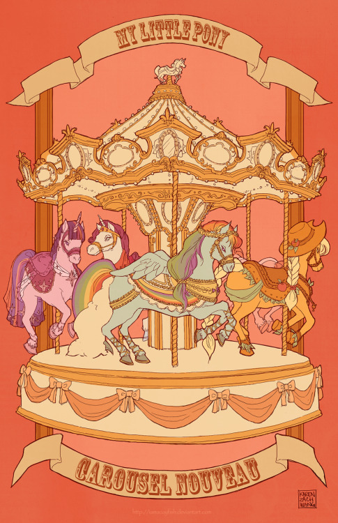 summerflightcamp:  .my little pony - carousel nouveau iiby ~iamacoyfish