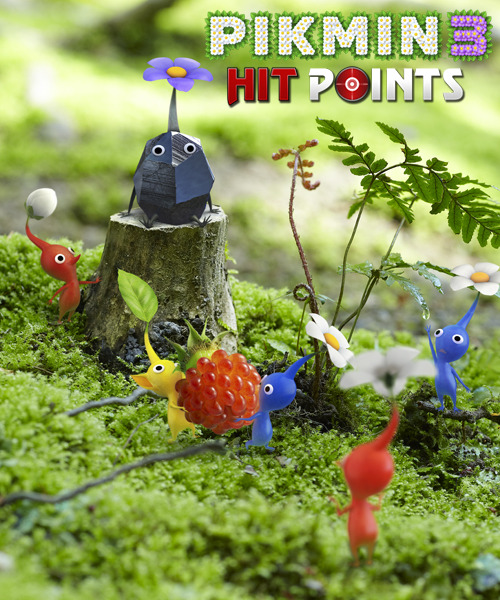 dbloodworth2:  Pikmin 3 - Hit Points! Don't be a purple pikmin! Hit Points highlights the newest species and more!