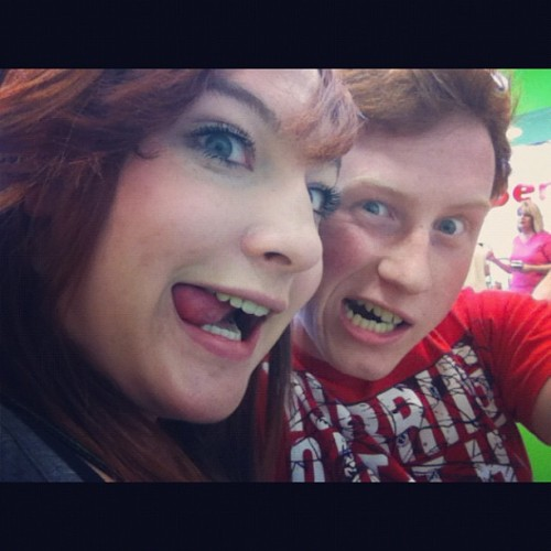 Attractive faces with my Missy (: #gf #bf #attractive #faces #funny #cherryberry (Taken with Instagram)