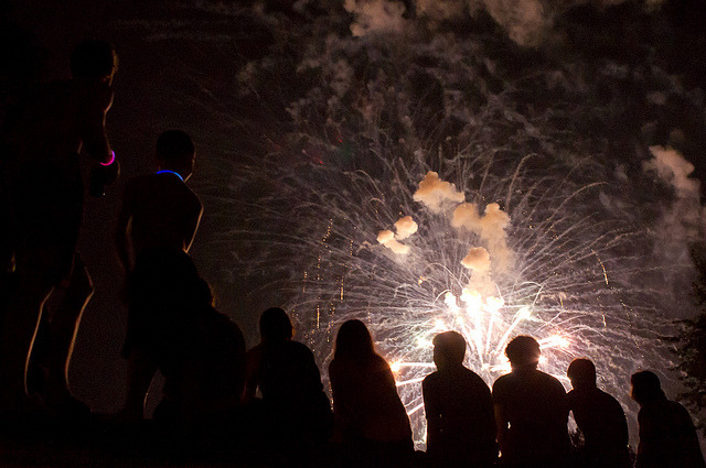 Fireworks! by Bill McBride on Flickr.