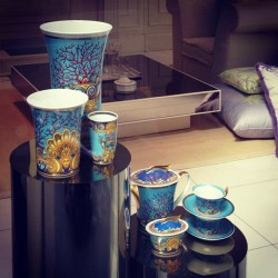 Lusting after this #versace tea set! Mentally cleared space in my cupboards for it (Taken with Instagram)