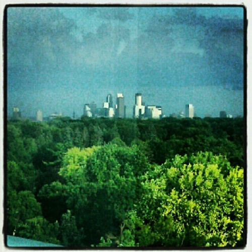 A room with a view #Minneapolis  (Taken with Instagram at North Memorial Medical Center)