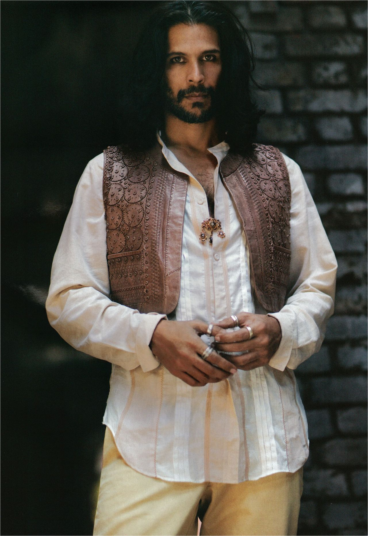 chelebelleslair:  Milind Soman in Vogue India the May 2008 issue