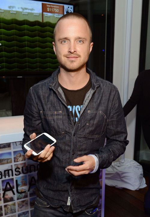 Aaron Paul | Samsung Galaxy S III Launch in LA - June 21, 2012