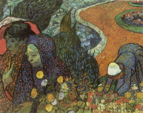 Memory of the Garden at Etten Women of Arles Artist: Van Gogh