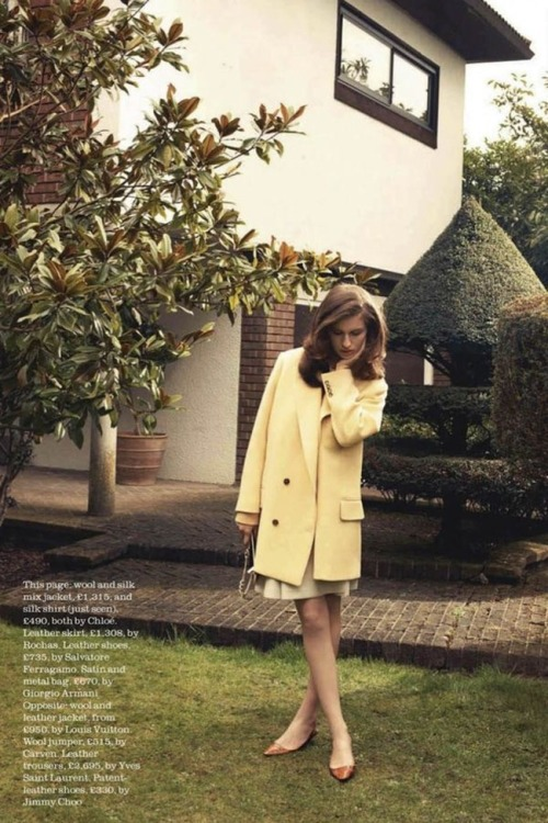"""Sweet Dreams"", Elle UK, July 2012."