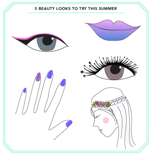 5 Beauty Looks to Try This Summer!