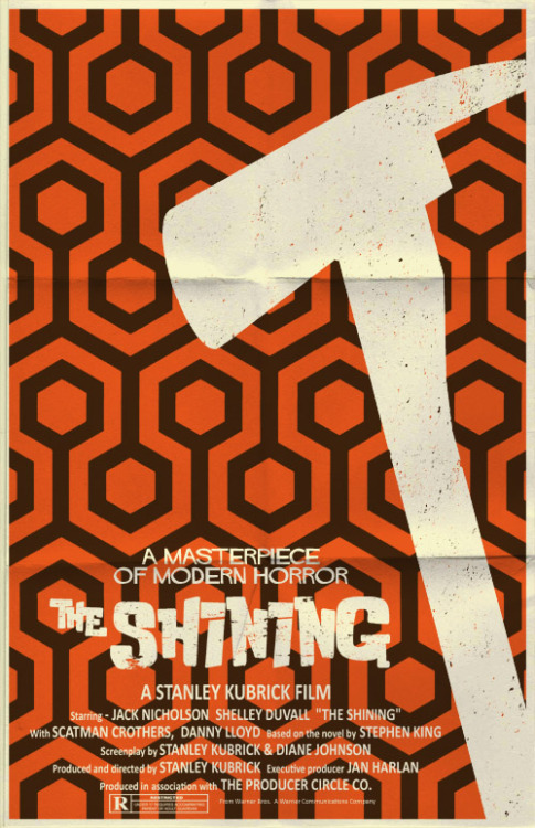 Movies of 2012, #41: The Shining Directed by Stanley Kubrick