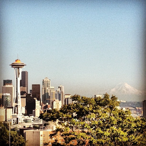 And it comes… #summer (Taken with Instagram at Kerry Park)