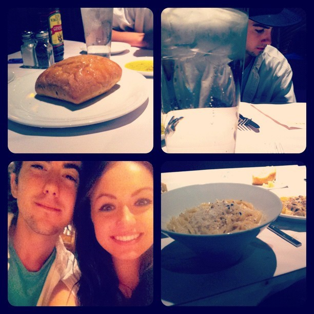 Dinner dates! ❤ (Taken with Instagram at Romano's Macaroni Grill)