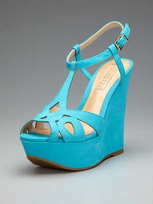 These Schutz wedges are on sale at Gilt for $99 (originally $199). I absolutely love the color. These would go great with a pair of white shorts or a white dress for that matter. Really, these wedges are an awesome summer accessory!