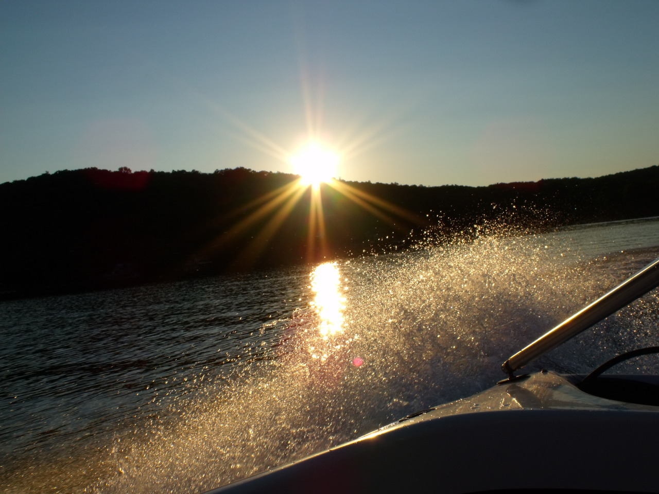 Shot from the tubing boat. :)