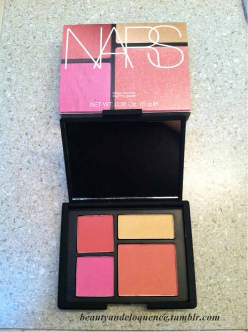 As pretty as this palette is with its awesome color selections… the size has just left me astounded.