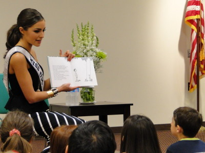 "Miss USA 2012 Olivia Culpo reads ""The Giving Tree"" at Cranston's Central Library (via GALLERY: Miss USA Reads the Giving Tree [Video] - Cranston, RI Patch)"