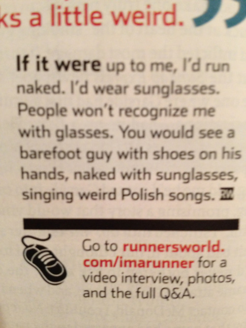 sourfruitlyman:  Danny Pudi in this month's Runner's World.