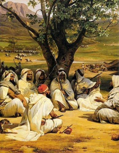 1843, Arab Chieftains in the Council