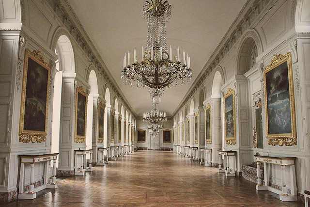 | ♕ |  Grand Trianon Hallway - Versailles Palace  | by © jessica