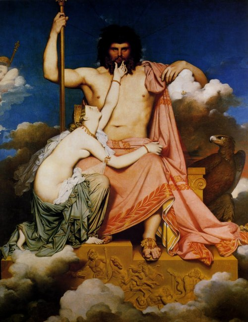 Jupiter and Thetis, 1811 Jean-Auguste-Dominique Ingres
