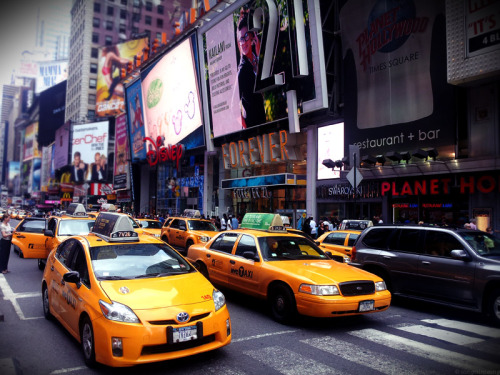 Beautiful Busy Day in New York, New York newyorkeveryday:  Time square. New York