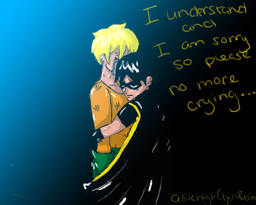 askhighflyinrobin:  Ah! Please Aquaman don't be sad! I am sure everything will work out. :)