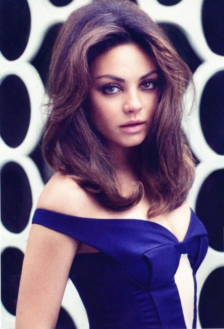 bohemea:  Mila Kunis - Elle UK by Doug Inglish, August 2012