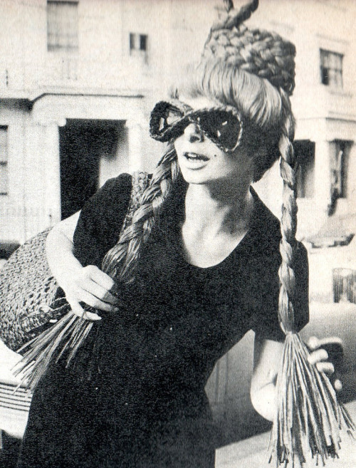 Braided sunglasses, 1960s.
