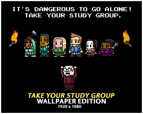 annieofitall:  Wallpapers 1920x1080 Take Your Study Group - Black Take Your Study Group - Black Scales Take Your Study Group - Blue
