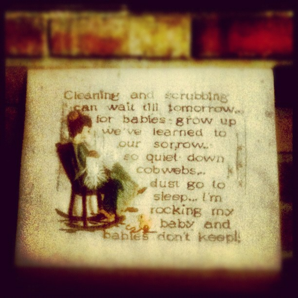 #parenting #embroidery #needlepoint #advice (Taken with Instagram at Sunset Lake)