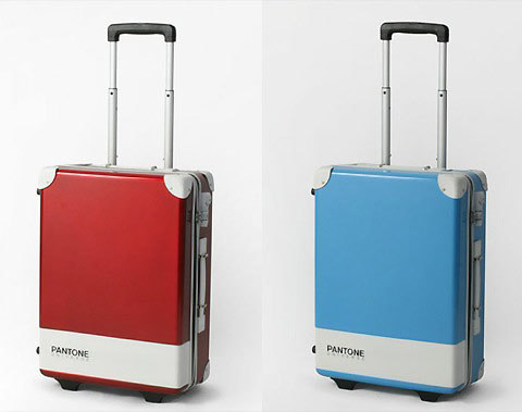 a Pantone Suitcase how cool