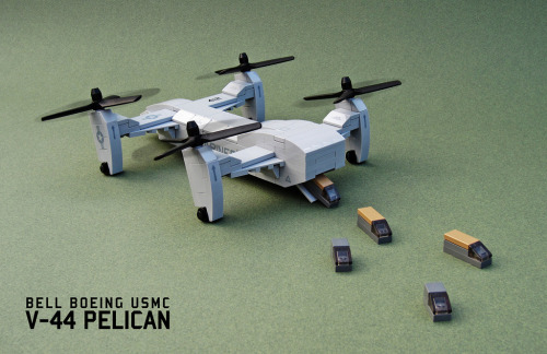 Bell Boeing V-44 Pelican (by Red Spacecat)