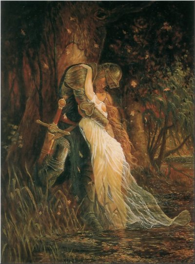 thewitchescauldron:  The Knight and Maiden