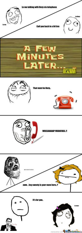 Telephone Call Gone Wrong