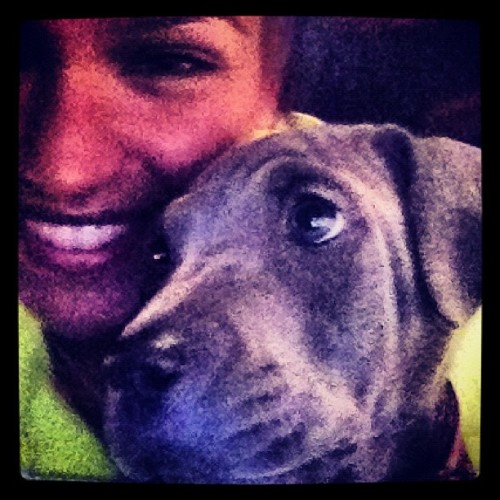 @esterdean's baby, Pixi and I. Precious ❤ (Taken with Instagram)