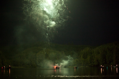 July 4th, 2012 in Lakeside, Oregon.