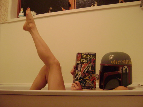queenofouterspace:  Today was definitely a reading in the bath day.
