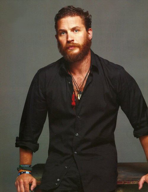 charlidos:  Tom Hardy in Deep Magazine - part 3. Scanned by the amazingly generous things-I-heart!