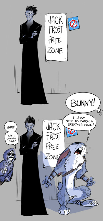 rufftoon:  Wow. The influx of Jack Frost fanart is…almost overwhelming. (Always great to see everyone's creations!)