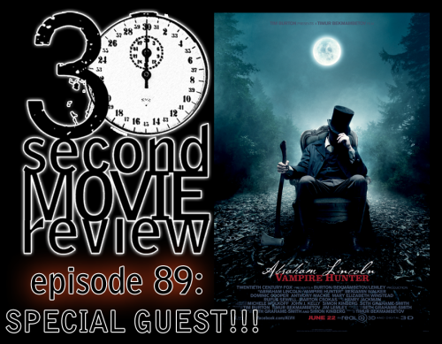 "zerografix:  Wonka's 30 Second Movie Review.  Episode 89: ""Abraham Lincoln: Vampire Hunter"" (2012) Featuring a Special Guest!!! http://www.keek.com/!Rj2kaab"