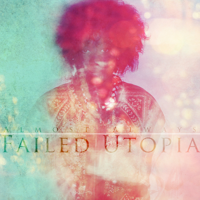 "curbsidejones:  Failed Utopia was put in motion in late 2011 with the intentions of covering topics that both members of the group face in their lives, outside of being musicians. The general concept of the album is a question that plagues most people, ""If you had a second chance to live your life would you do anything different?"" The album takes place behind the eyes of someone who has a second chance at life and describes stories, events, and scenarios that he sees differently during his journey. The subject matter consist of- failing to find perfection, getting looked over by someone you are attracted to, abuse, attachment to technology, losing time that can't be recovered, and how race and religion can affect how one views their life and how others may view them. ENJOY! <a href=""http://almostalwaysmusic.bandcamp.com/album/failed-utopia"" data-mce-href=""http://almostalwaysmusic.bandcamp.com/album/failed-utopia"">Failed Utopia by Almost Always</a> Alternate Download Links http://www.hulkshare.com/i99wehfw97nk http://www.mediafire.com/?j06so5dsnt57080  Follow us on twitter http://twitter.com/Almost_Always Contributions Production: Corey Arnell (http://twitter.com/CoreyArnell)Lyrics: Curbside Jones (http://twitter.com/CurbsideJones) Engineering: Curbside Jones Contributions Basslines: Sam Billew (Hot Chicks x Arcade Sticks (Round 2) & (Casio Watch) Poetry: Rob D (Casio Watch) Vocals: SPZRKT (Just, Maybe) Vocals: Jake Lloyd (She) Vocals: Knatasha Chambers: (Hot Chicks x Arcade Sticks (Round 2))    Listening now."