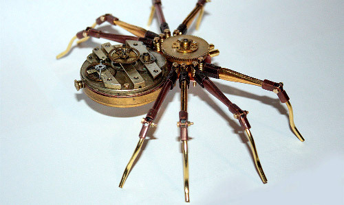 spiderinthecupboard:  Just look at these freaking cute little steampunk babies