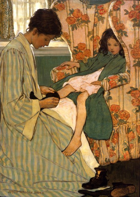 Mother's Morning Jessie Willcox Smith