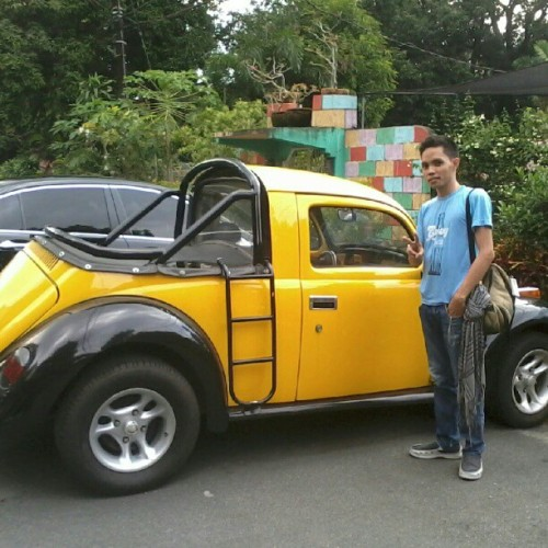 Modified Beatle #nofilter :) (Taken with Instagram at UP Shopping Center)