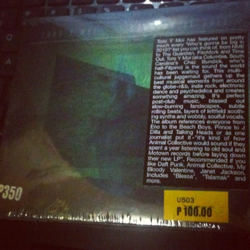 Look what i found at cd sale today. #toroymoi (Taken with Instagram)