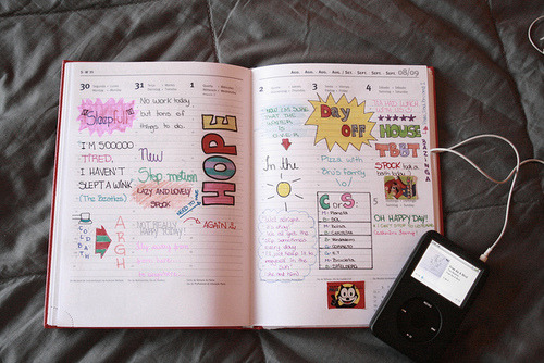 My journal [week 4] | Flickr – Compartilhamento de fotos! on We Heart It. http://weheartit.com/entry/3746045