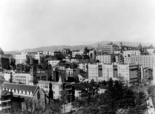 Downtown Los Angeles. 1900.