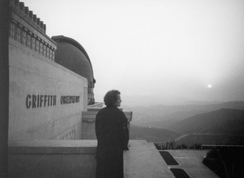 Griffith Observatory.  May 14th, 1935. Opening day.